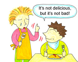 it's not delicious