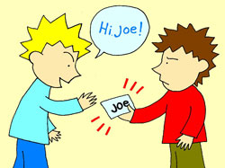 Is his name Joe? Yes, it is!