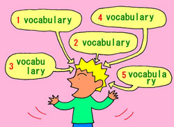many vocabularies