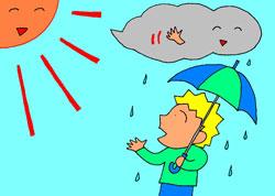 it seems to stop raining soon