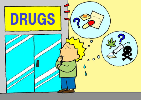 What's the difference between DRUGS and MEDICINE?